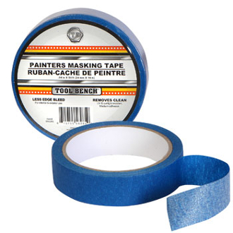 SAVE TIME ! Use Blue Painters Tape for Walls & Windows.Applies quickly and easily!Removes cleanly with no residue.Does not cause surface damage.Easy to use.Delivers sharp paint lines.