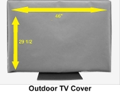 TV COVER Outdoor TV Cover READ OUR REVIEWS Marine Grade WATERPROOF same day shipping ALL WEATHER PROTECTION