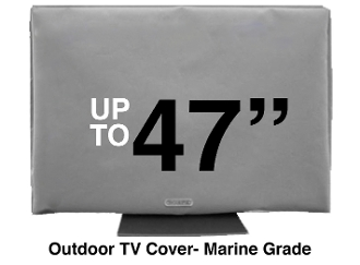 TV COVERS FINEST QUALITY ALL WEATHER LCD Flatscreen TV COVER Marine Grade WATER RESISTANT free shipping GREAT REVIEWS remote pocket